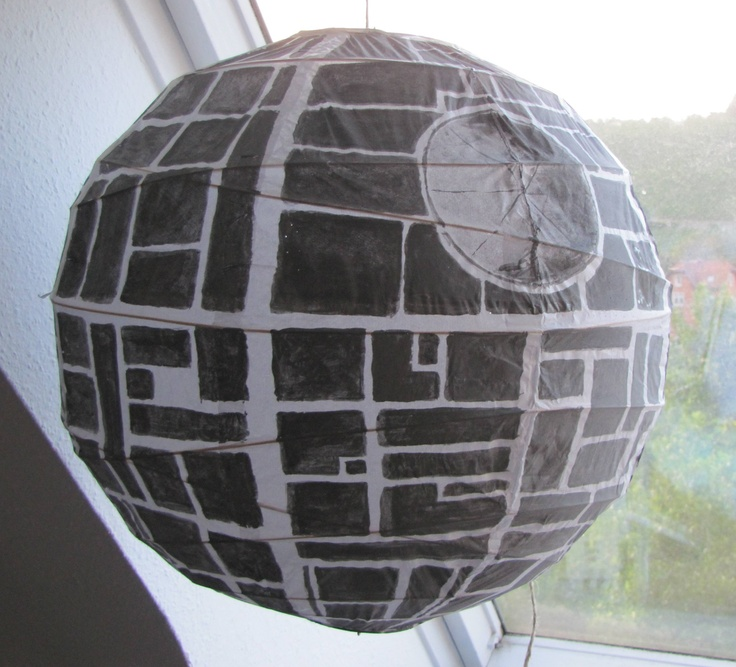 ikea lamp death star star wars pinterest death star stars and lamps. Black Bedroom Furniture Sets. Home Design Ideas