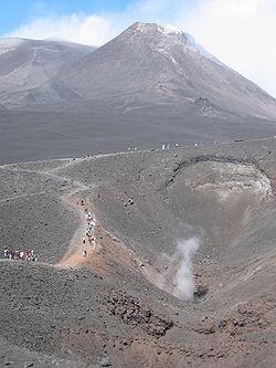 Le volcan Etna (Sicile)