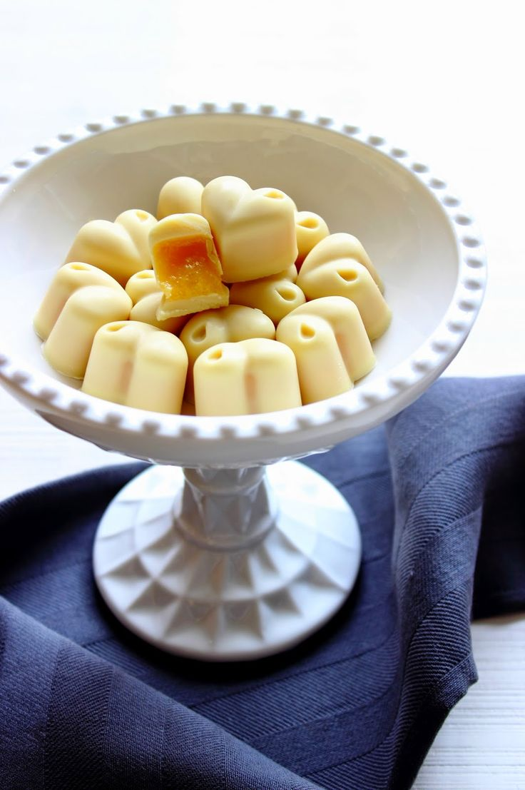 Zoet & Verleidelijk: Witte chocolade sinaasappel bonbons