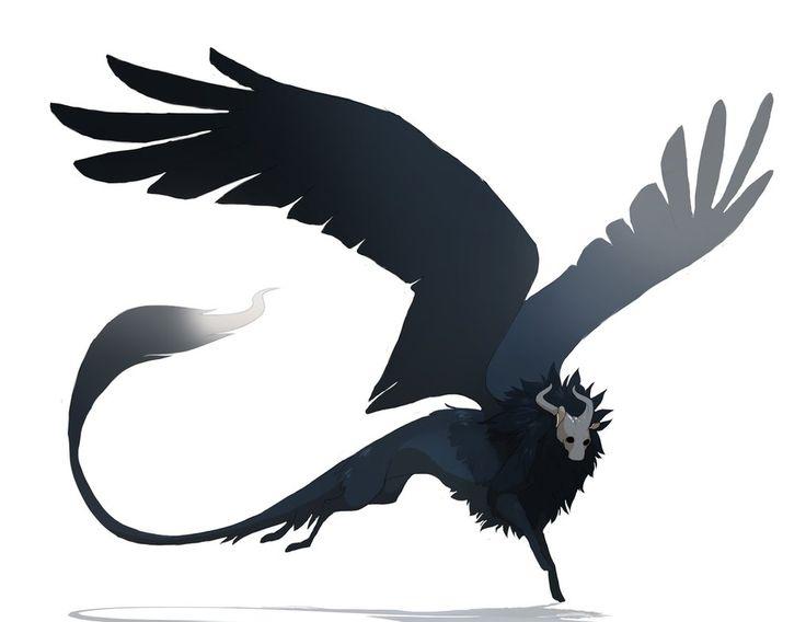nightmare sphinx by oukamiyoukai45.deviantart.com on @DeviantArt