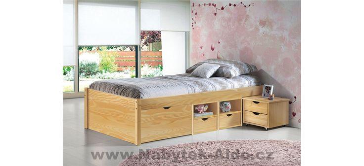 Dětská postel z masivu Claas 30400630