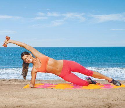 Bikini Body Workout. complete with cardio circuit. love.
