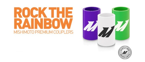 Rock the rainbow baby. New Mishimoto Silicone Coupler colors.