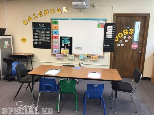 Classroom Organization Ideas For Special Education : A look inside my autism classroom