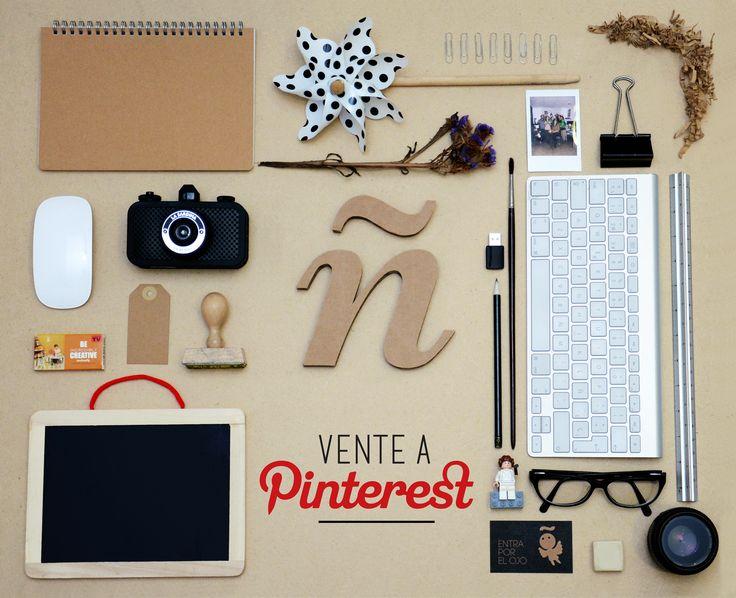 Así es como anunciamos nuestra llegada a Pinterest ;)