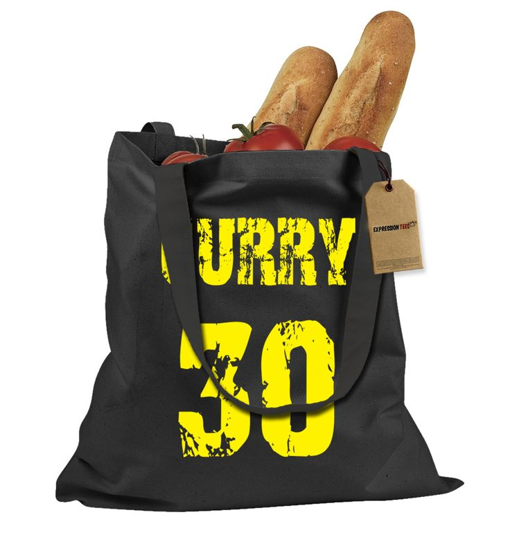 Curry #30 Basketball Shopping Tote Bag