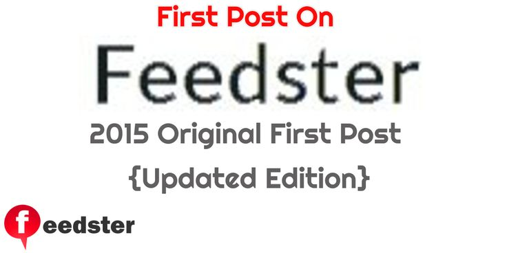 The First Post on Feedster - A New Beginning http://www.feedster.com/featured/first-post-feedster/?utm_campaign=coschedule&utm_source=pinterest&utm_medium=Will&utm_content=The%20First%20Post%20on%20Feedster%20-%20A%20New%20Beginning