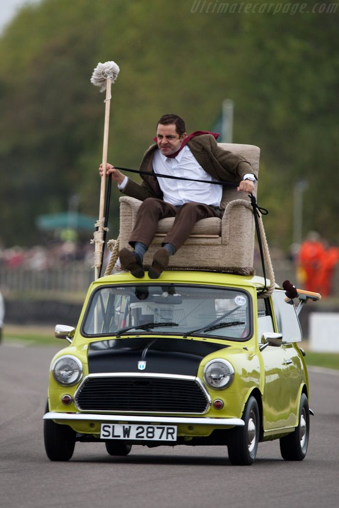 Mr Bean!! I love him!! I want to drive a car like that one time!