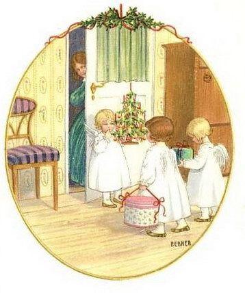 522 best christmas 3a art illustration images on pinterest. Black Bedroom Furniture Sets. Home Design Ideas
