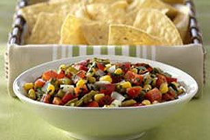 Cactus Salsa recipe. I have never had cactus buy this could give me excuse to try it!