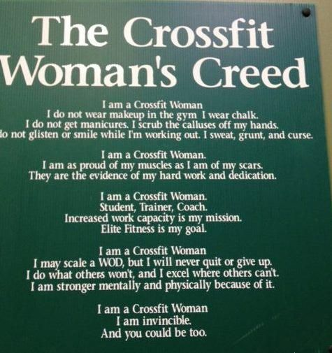 Crossfit is a way of life!: Fitness, Crossfit Women, Motivation, Crossfit Woman S, Woman S Creed, Workout