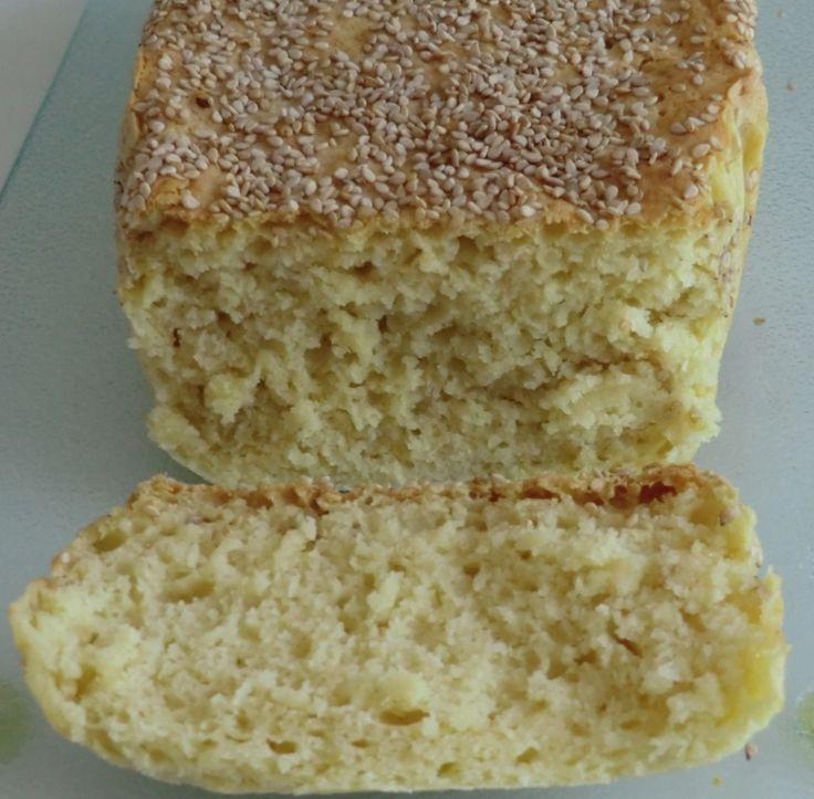 Pain sans gluten aux farines de riz-pois chiches Exquidia