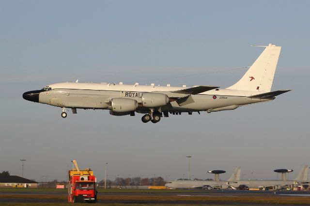 Ahead of entry into service 2014,RAF received 1st of 3 Boeing RC-135 Rivet Joint signals intelligence (SIGINT) acquired Airseeker programme.Operated by 51 Sqn from RAF Waddington in east of England.Personnel from the squadron have been training with USAF's 55th Reconnaissance Wing since 2011 in preparation for arrival of the new aircraft, logging 32,000h across 1,800 sorties,MoD says.Aiming to achieve full operational capability of the 3 RC-135s by mid-2017.