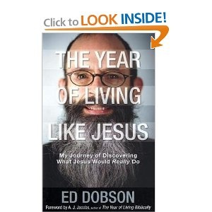 """Nice comparison to """"The Year of Living Biblically"""" by AJ Jacobs. The preface is even written by AJ Jacobs. This book is very worthwhile reading, I enjoyed it a lot. I liked Ed Dobson's sometimes unconventional opinions and gestures."""