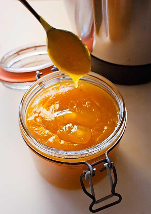 Cómo hacer salsa dulce de melocotón con Thermomix