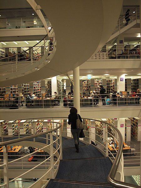 London School of Economics Library Stairway