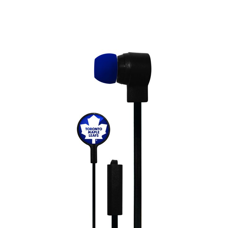 Toronto Maple Leafs Big Logo Earbuds (backorder)