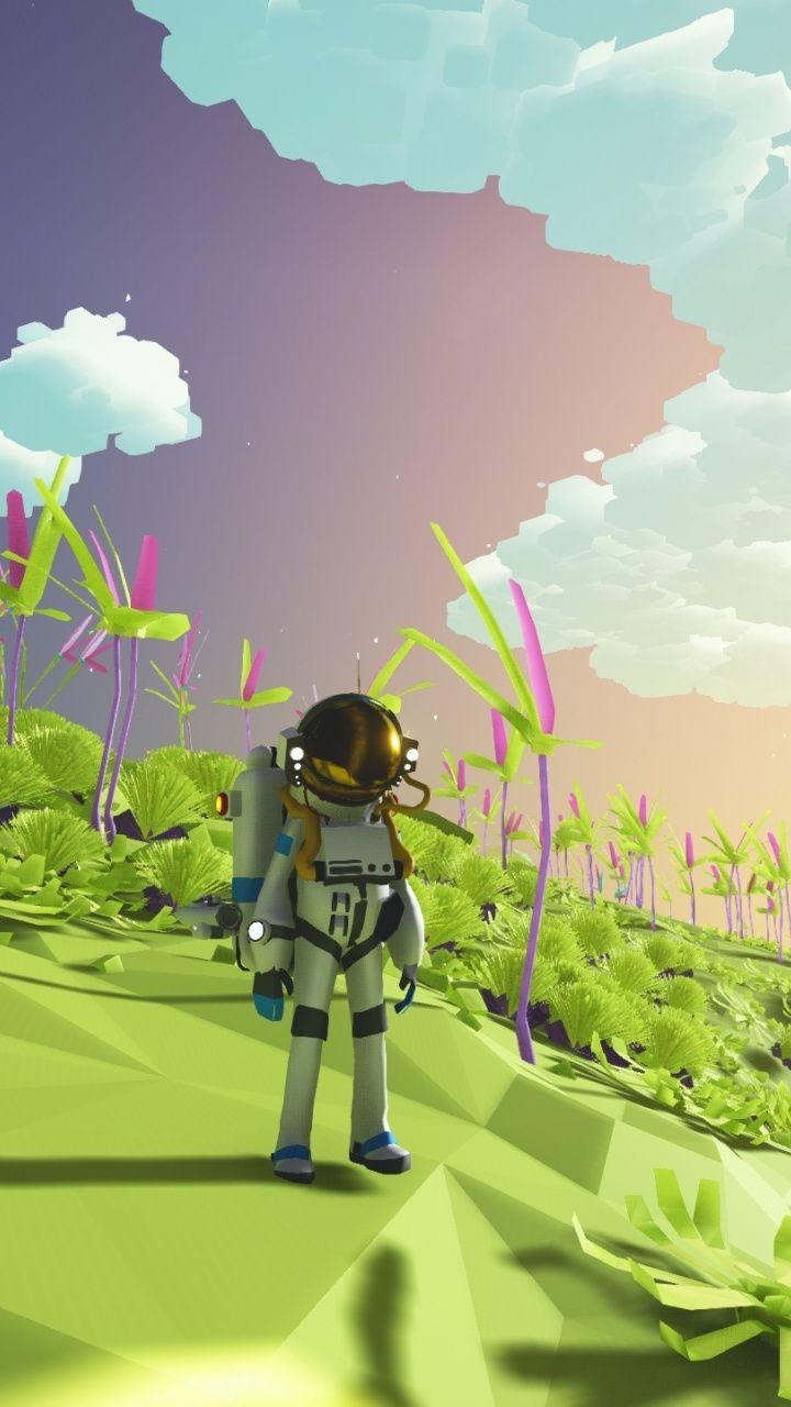 Landscape Video Game Astroneer 2016 720x1280 Wallpaper Wallpaper Game Wallpaper Iphone Game Character Design