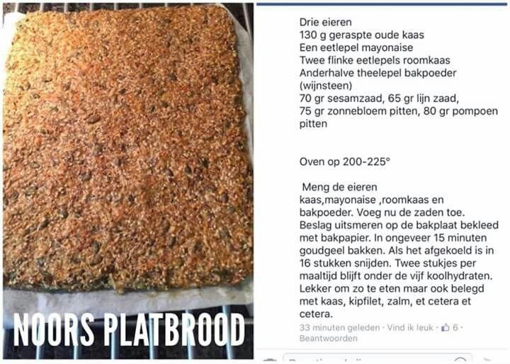 KHA Noors platbrood