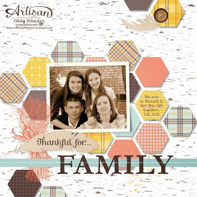 Love this scrapbook page!Scrapbook Ideas, Families Hexagons, Scrapbooking Cards, Digital Studios, Scrapbook Layout, Stampin Up Scrapbooking Pages, Scrap Ideas, Scrapbook Pages, Mds Digital