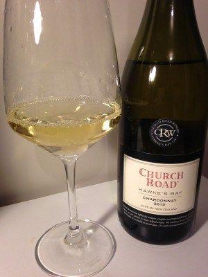 2013 CHurch Road Chardonnay, Hawke's Bay New Zealand wine review on Social Vignerons