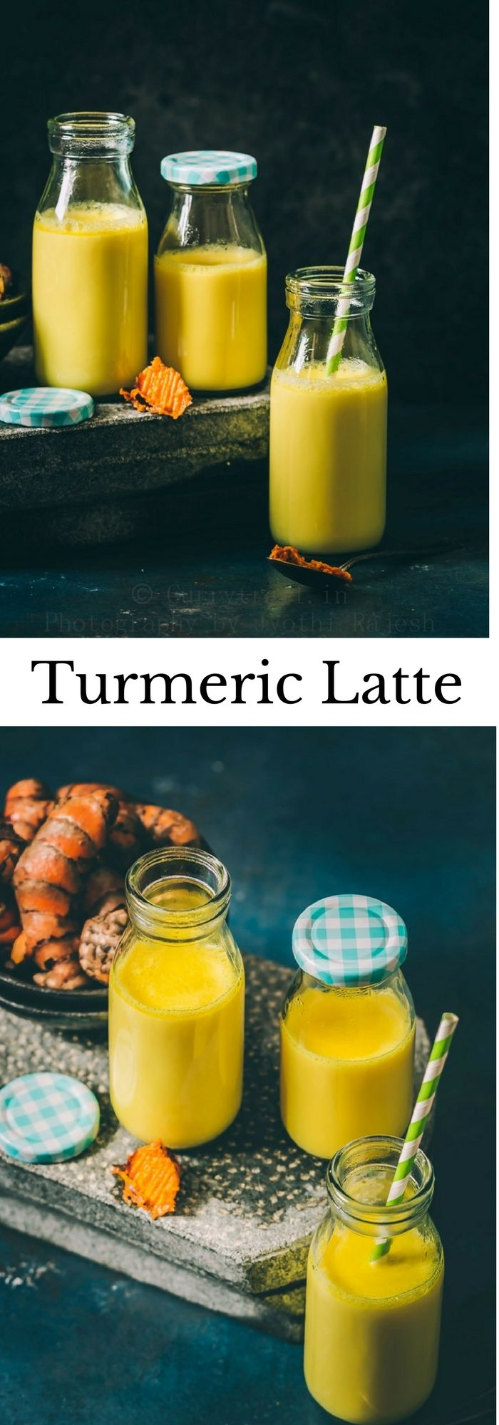 Turmeric Latte | Haldi Doodh Turmeric powder/fresh turmeric mixed in hot milk, and a dash of pepper powder along with honey is the best home remedy you can rely on for immediate relief from cough and congestion. #latte #turmericlatte #homeremedy #coughremedies #homemademedicine #medicine