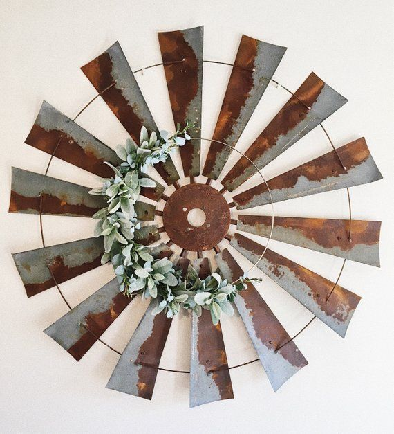 Modern Wreath Hoop Wreath Lambs Ear Wreath Eucalyptus