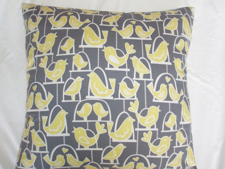 LOVEBIRDS CUSHION COVER | Felt