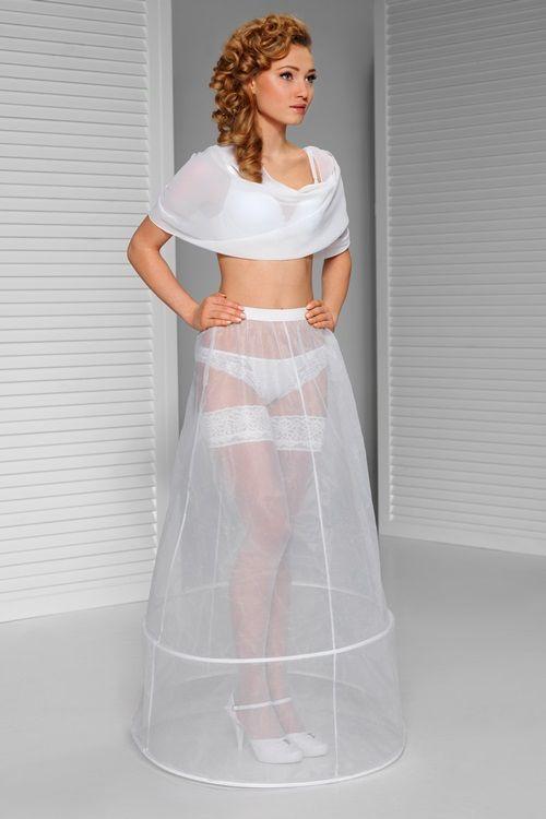 spodnice pod svatební šaty dvoukruhová