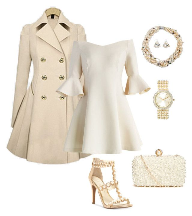 """Chic Outfit"" by carol-youssef on Polyvore featuring Chicwish, Jessica Simpson, NOVICA, GUESS by Marciano and Geneva"