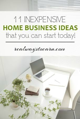 This is a list of eleven home businesses that are cheap to start that you can do today! via @RealWaystoEarn
