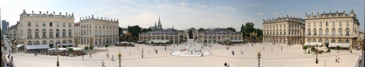 Nancy, France- Parts of the historical city centre are listed as a UNESCO World Heritage Site.