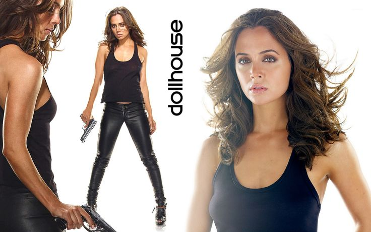 Eliza Dushku in Dollhouse TV Series Wallpapers in jpg format