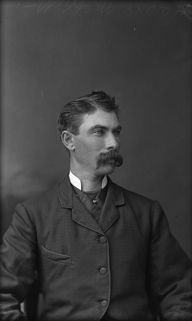 A Candian man identified as Mr. McNutt (Mott) photographed by William James Topley, August 1892