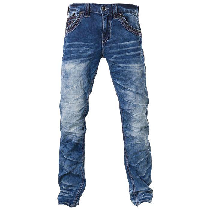 Pánské jeans Affliction Ace Fleur Trenton | MMA shop - vybavení pro bojové sporty a oblečení | Affliction - dámské a pánské značkové oblečení a doplňky