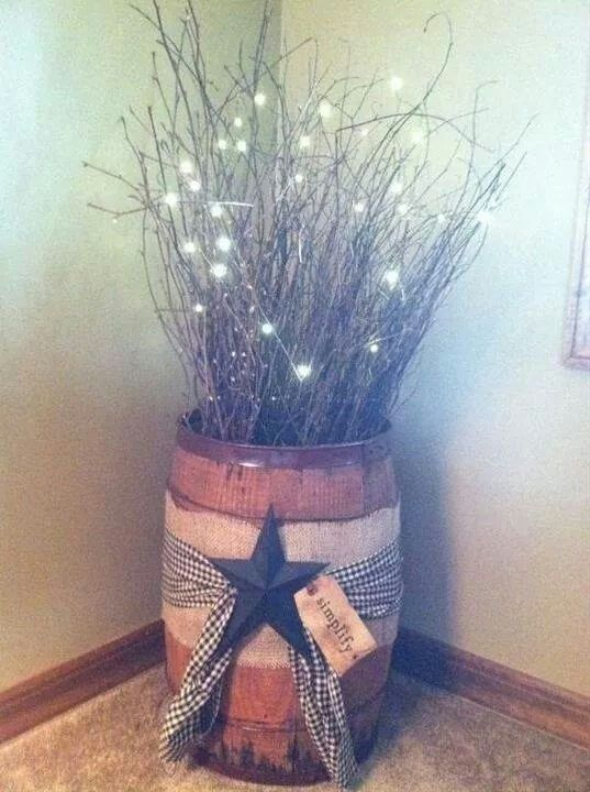 so cute for corner decor, by the door.