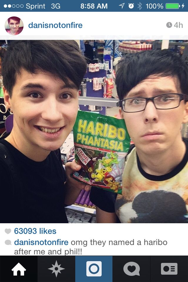 I NEED THE PHAN HARIBO! Dan and Phil better have bought these....