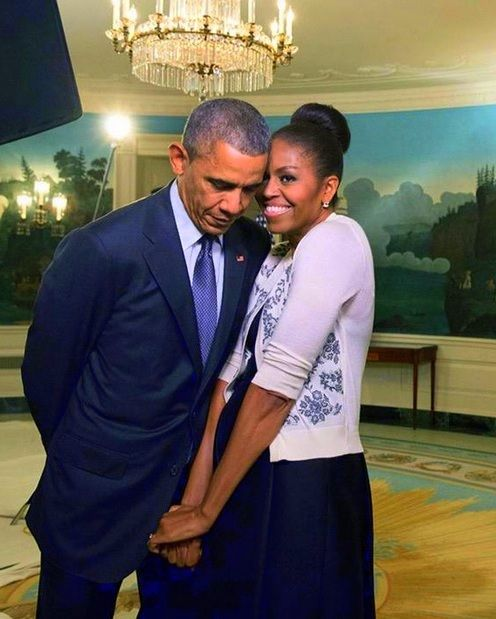 President Obama and First Lady Michelle.