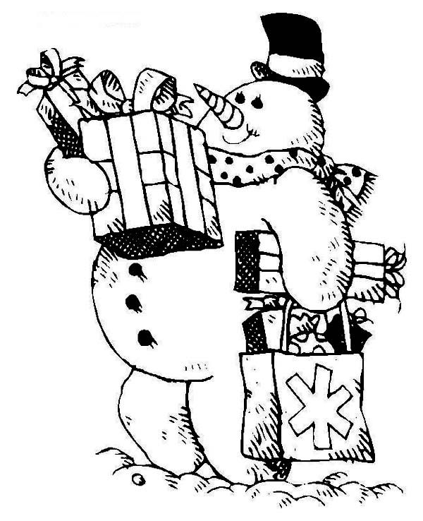 Mr Snowman On Christmas Touching A Snowflake Coloring Page: 17 Best Images About Christmas Window Ideas On Pinterest