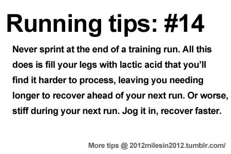 Running Tips: Bring it home slowly      Starting running or training for a marathon? Tips and help: Get more running tips and training adivc...