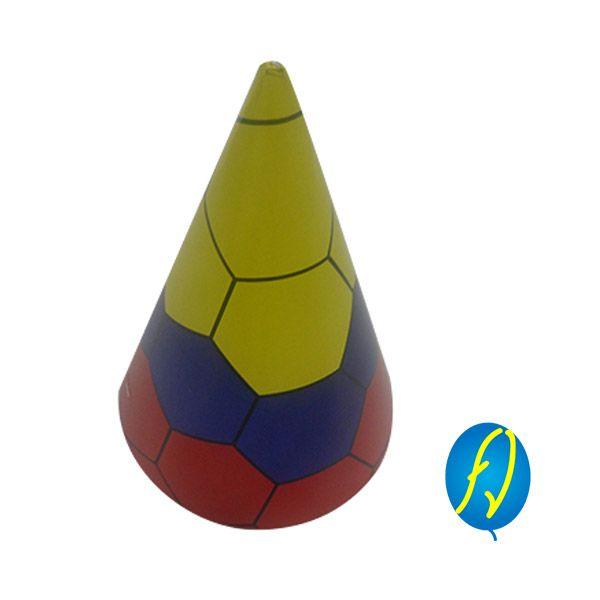GORRO CONO COLOMBIA, un producto más de Piñatería Fiesta Virtual de Colombia - lo puedes ver en http://bit.ly/1YfuRHh. #FiestaVirtual