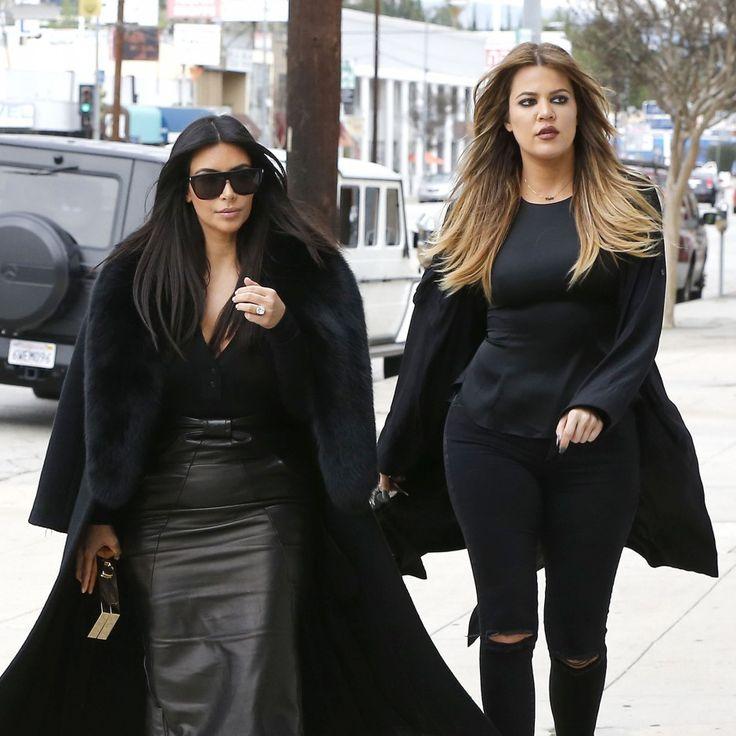 Kim, Khloe, Kylie et North West ont eu un accident de voiture   HollywoodPQ.com