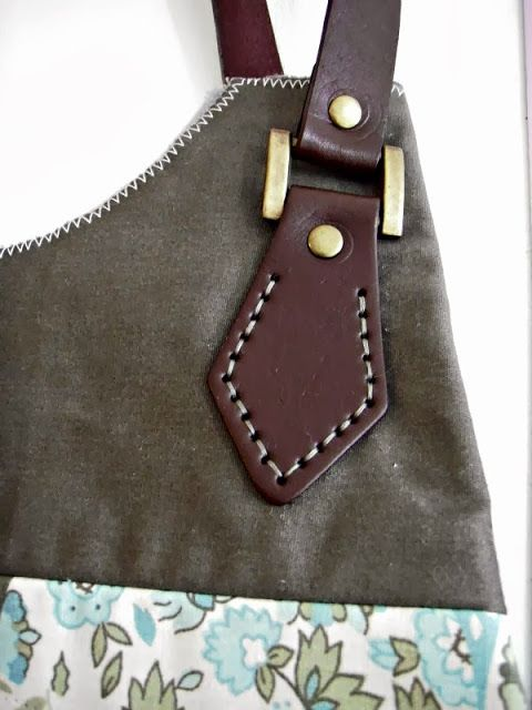 At home with Mrs H: How to attach leather handles
