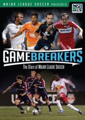 Game Breakers The Stars of Major League Soccer DVD 2008 MLS USA New Soccer