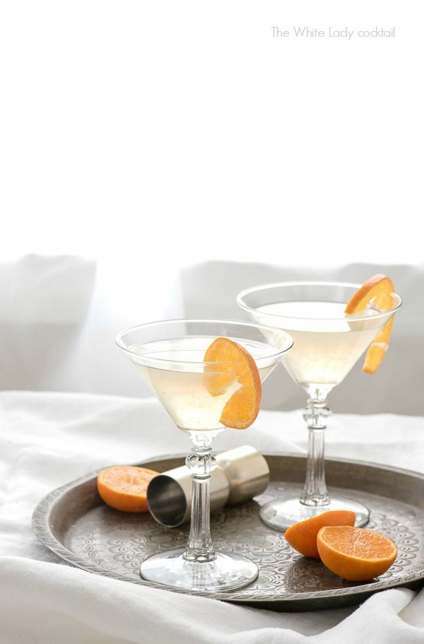 The White Lady cocktail. A dry gin, citrus classic! And an homage to Downton Abbey. - BoulderLocavore.com