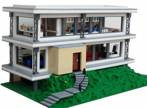 1333843496m 500 368 pixels cool lego for Modernes lego haus