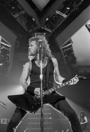 Old School Hetfield - Metallica