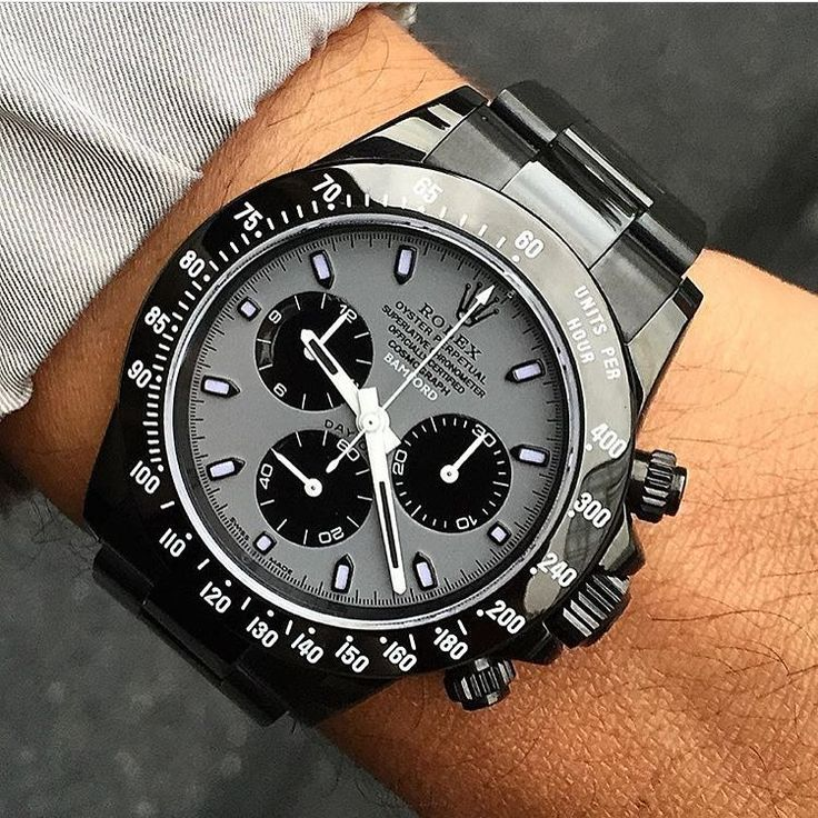 Luxury Watch Life: Custom Bamford's Daytona