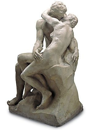 The Kiss, Rodin. perspective II