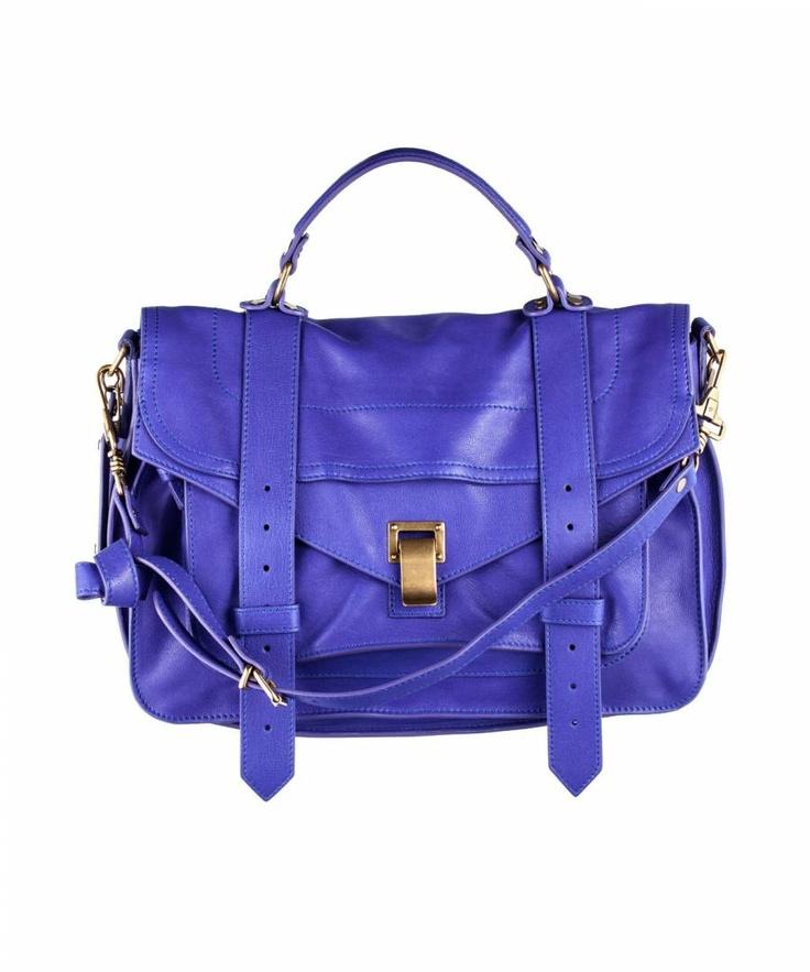 Proenza Schouler PS1 Medium Leather Purple Rain